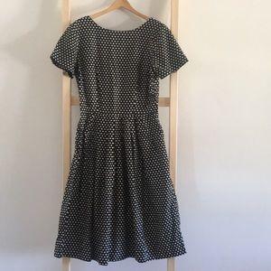 Vintage/Retro Handmade Polka Dot Dress